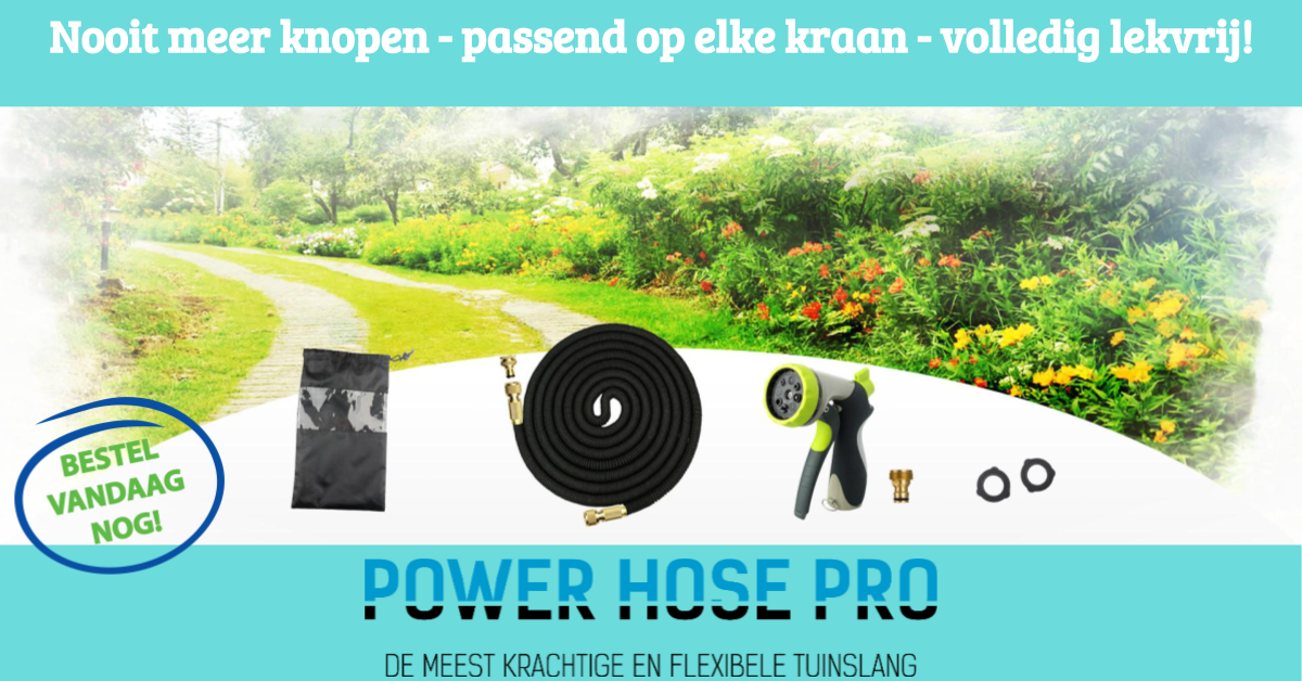 Flexibele tuinslang Power Hose Pro